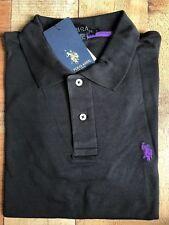 US POLO Assn Black Polo Back to School Blow-Out Uniform Shirt Boys Men Small S
