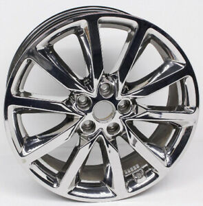 Single Kia Sorento 2016-18 Chrome 19x7.5 Genuine Alloy Wheel