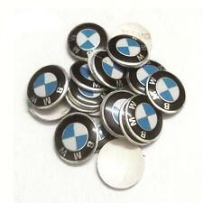 REMOTE KEY FOB KEYLESS ENTRY EMBLEM STICKER REPLACEMENT FOR ALL BMW WITH 11mm