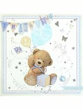 6 x Boy Baby Gift Thank You cards by Simon Elvin