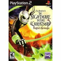 The Nightmare Before Christmas: Oogie's Revenge PlayStation 2 PS2 Complete *VG