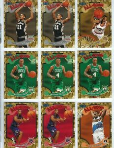 "1997-98 ULTRA-FLEER  ""ALL ROOKIE"" 18 CARD INSERT LOT DUNCAN MCGRADY+++"