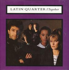 """7"""" 45 TOURS UK LATIN QUARTER """"I Together / See Him"""" 1987 POP"""