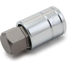 """Titan Tools 15622 Hex Bit Socket 1/2"""" Drive 22mm Chrome"""