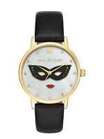 NWT Kate Spade New York Women's Metro Steal the scene Leather Watch 34mm KSW1181