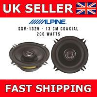 """ALPINE SXV-1325E 13cm (5.25"""") 2 Way 200 Watt Car Door Shelf Speaker"""