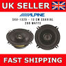 """ALPINE SXV-1325E 5"""" 200W Coaxial Car Audio Stereo Front/Rear Door 13cm Speakers"""
