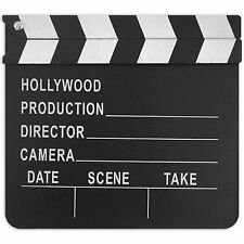 20cm Hollywood Awards Night Party Classic Black Movie Clapper Board Prop