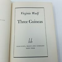 Three Guineas by Virginia Woolf (1938, US 1st First Edition, Hardcover)