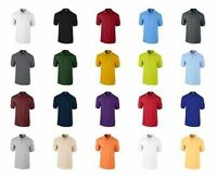 Gildan Men's  Ultra 100% Cotton™ Polo Shirts combed Ringspun Short Sleeves Polo