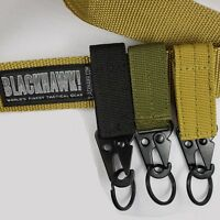 Outdoor Tactical Belt Buckle Men Belts Carabiner Military Hunting Equipment Lock