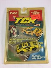 TYCO TCR JAM CAR - SLOTLESS SLOT CAR - TRACK READY -  New in package!