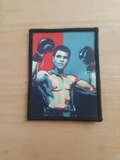 3 Inch Sew on Muhammed Ali Boxing Boxer Sew On Patch Badge