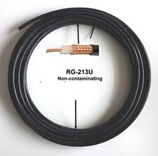 100 ft Coax Cable Low Loss Stranded Copper Center Conductor RG213U RG8/U 100'