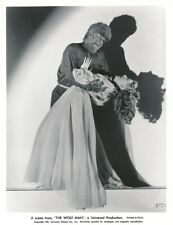 LON CHANEY as THE WOLF MAN EVELYN ANKERS 1941 Universal Pictures Horror Photo