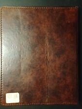 Pottery Barn Accents Saddle Leather Tablet Case - Compatible with i Pad 2