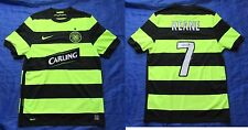 Roy Keane CELTIC GLASGOW NEON away jersey by NIKE UNIQUE 2009-2010 /men/S