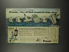1959 Presto Ad - Fry Pan, Griddle, Coffeemaker