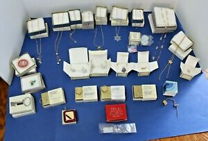 Vintage Avon Jewelry Lot of 25 with boxes