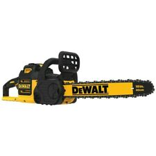 DEWALT 40V Max Cordless Chainsaw 16 in Bar Chain 4Ah Lithium Ion Battery Charger