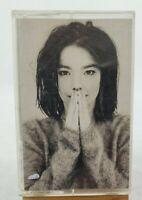 """Björk (Bjork) """"Debut"""" Cassette Tape Elektra #961468-4/1993"""
