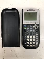 Texas Instruments TI-84 Plus Graphing Calculator With Cover Tested Works