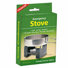 Coghlan's Emergency Cooking Stove with 24 Fuel Tablets Hiking Camping Survival