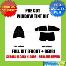 SUBARU LEGACY 4-DOOR 2010+ FULL PRE CUT WINDOW TINT KIT