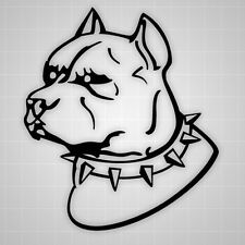 Pitbull Decals, Pitbull Wall sticker, Pitbull Car Sticker, Pitbull dog decals