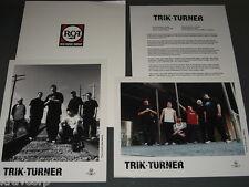 TRIK TURNER 'S/T' 2001 PRESS KIT—2 PHOTOS
