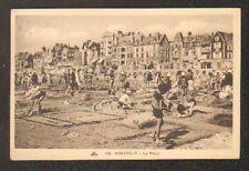 WIMEREUX (62) ENFANTS aux JEUX de SABLE & VILLAS animées en 1936