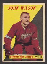 1958-59  TOPPS  # 22  JOHN WILSON   INV M241
