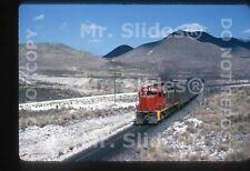 Original Slide NdeM Nacionales de Mexico GP35 8254 Psgr Action AguaNueva COAH