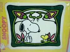 Aviva Peanuts Snoopy Instant Stained Glass Snoopy Woodstock Doghouse Window Art