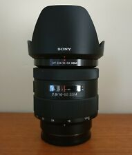 Sony A Mount 16-50mm F2.8 DT SSM Lens (SAL1650) APSC Zoom video