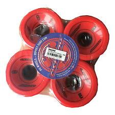 OSPREY LONGBOARD HARD WHEELS - red 86A TY5390 skateboard cruiser