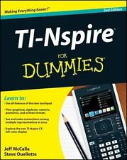 TI-Nspire for Dummies (Paperback or Softback)