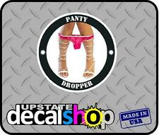 "Panty dropper 4""color Decal Funny car sic vinyl Sticker JDM racing illest stance"