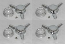 SET OF 4 WHEEL RIM CENTER CAPS KNOCKOFF TRIBAR SPINNER FITS US MAGS RAMBLER U111