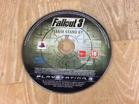 Fallout 3 Sony Playstation 3 PS3 Region Free Game Disc Only + Free UK Delivery