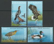 Moldova 2021 Birds 4 MNH stamps