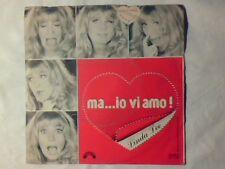 """LINDA LEE Ma... io vi amo! 7"""" CRISTIANO MALGIOGLIO COME NUOVO LIKE NEW!!!"""