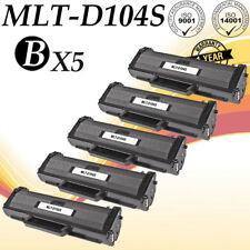5 PK MLT-D104S Toner For SCX-3201 3205 3205W 3206 ML-1660 1661 1665 1670 1675