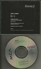 Bauhaus DAVID J Space Cowboy w/ 2 RARE EDITS PROMO DJ CD single Love and rockets