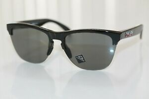 Oakley FROGSKINS LITE SHIBUYA Sunglasses OO9374-4063 Black W/ PRIZM Grey Lens