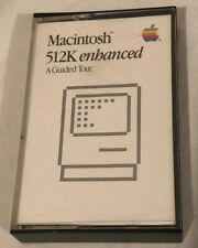 Rare Macintosh 512K Enhanced - A Guided Tour - (Cassette Tape,1986)