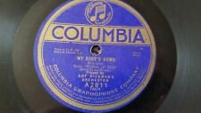 78 rpm LOT OF 2 ART HICKMAN'S ORCH - MY BABY'S ARMS / IF A WISH COULD MAKE IT SO