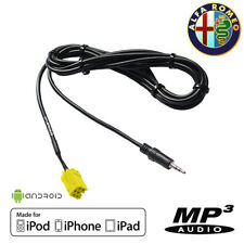 Cable AUX AUXILIAIRE MP3 Jack 3.5 Alfa Romeo 159 147 156 AUX-IN iPhone Android