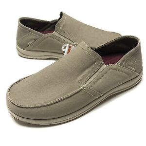 Crocs Santa Cruz Convertible Slip-On Khaki Cobblestone Triple Comfort Mens 8