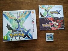 Nintendo 3DS Pokemon X with box, manual & game, All proceeds to Alzheimer's